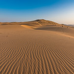 Sand Dunes in early morning light near Serra Cafema Camp in Namibia.