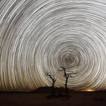Star Trails in Namibia
